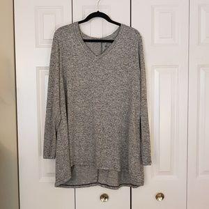 NWT Grey Long Sleeve Shirt